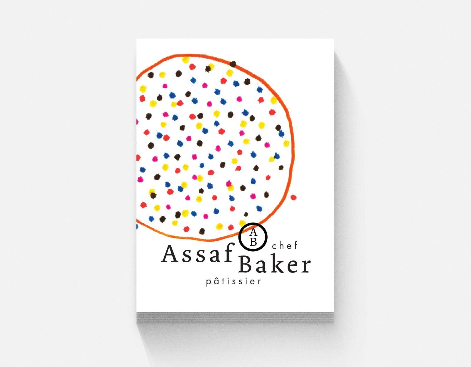 Assaf Baker Business card