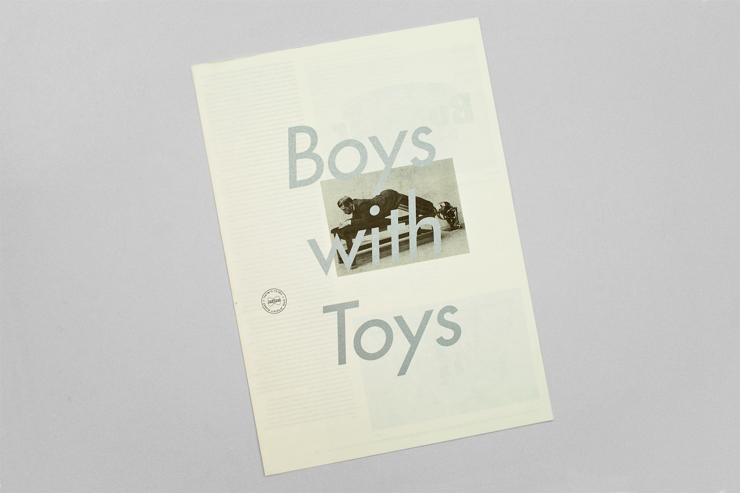 Boys with toys catalog